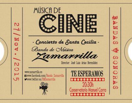 Música de Cine - Concierto de Santa Cecilia