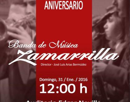 XVII Concierto Aniversario - Banda de Música de Zamarrilla