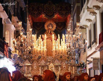 Participación en la Magna Procesión de Santa María de la Victoria