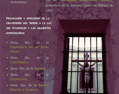 """Agenda de Formación Cristiana """"El Sentido de la Cruz, el Sufrimiento y la Muerte"""""""