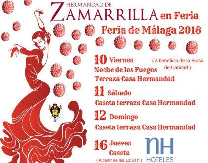 Programa para la Feria de Málaga 2018