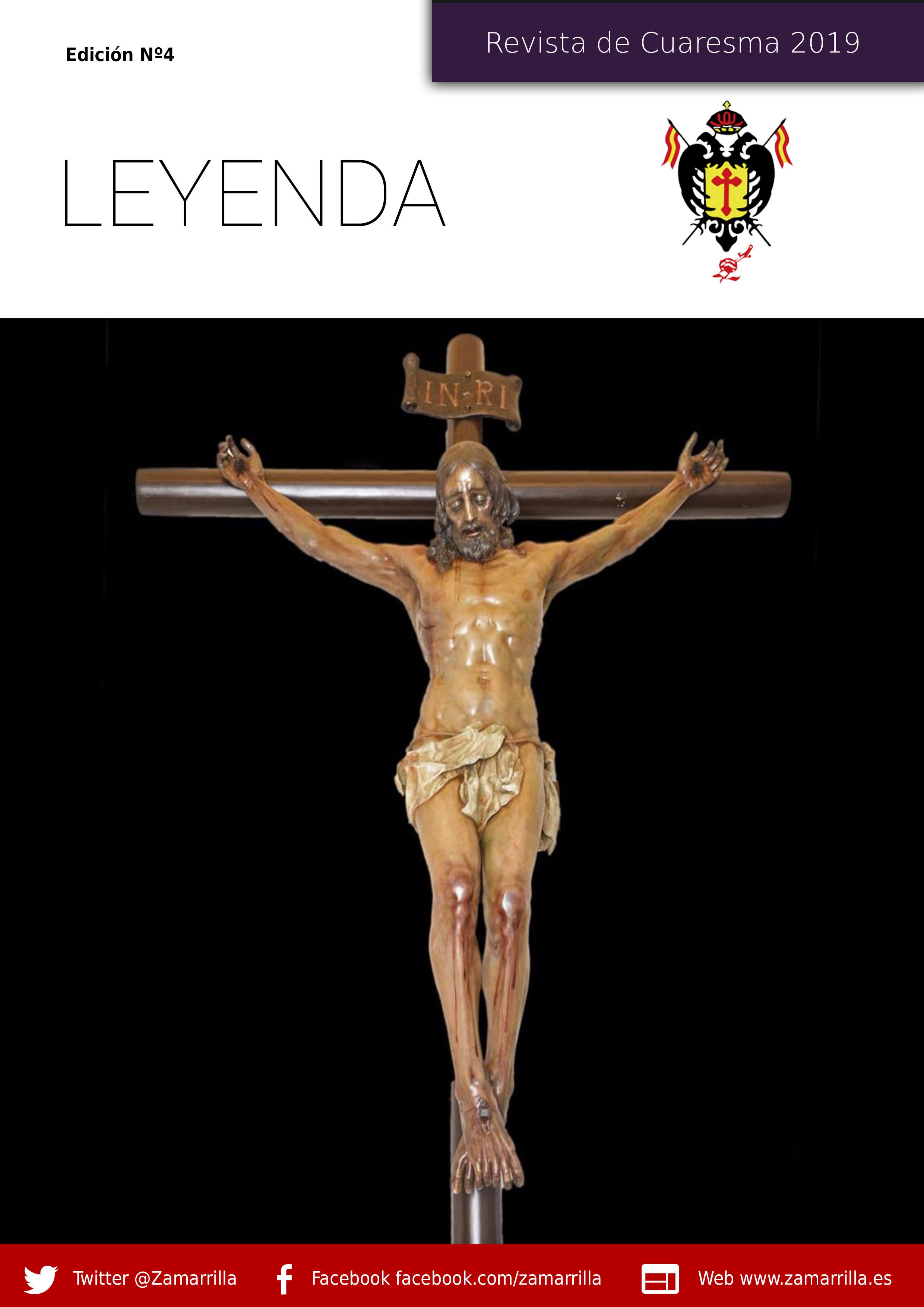 Leyenda – Revista de Cuaresma 2019