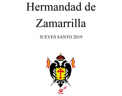 Dossier de Prensa - Jueves Santo 2019