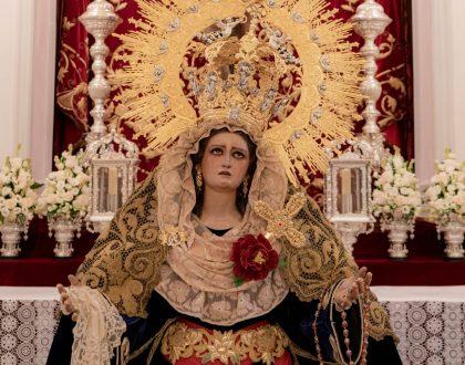 FESTIVIDAD DE MARÍA SANTÍSIMA DE LA AMARGURA CORONADA