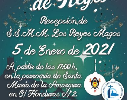 AGENDA – REYES MAGOS 2021