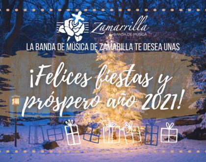FELICITACIÓN BANDA DE MÚSICA (NAVIDAD 2020)