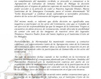 COMUNICADO OFICIAL (05/08/21)