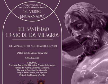 HORARIO E ITINERARIO TRASLADO CATEDRAL CRISTO DE LOS MILAGROS